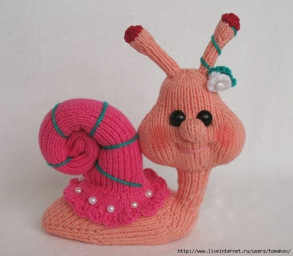 Knitting Pattern For Toy Snail : ??????? ???????? ???????. ?????? / ???????? ??????? ...