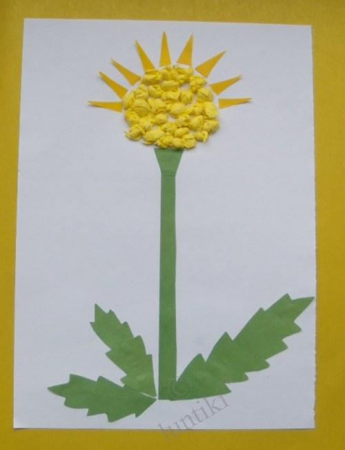 Unconventional Children Application Mosaic Craft Ideas From Torn