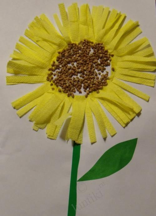 baby crafts: easy flower to make