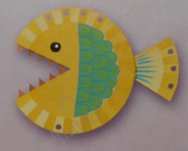 4. & Children and creativity. How to make a Wonder-fish - kids handmade ...